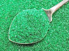 German Glass Glitter Emerald GREEN Fine 90 Grit X-Mas Craft Vintage Style 1 oz