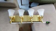 Brass Art Deco Bathroom Light