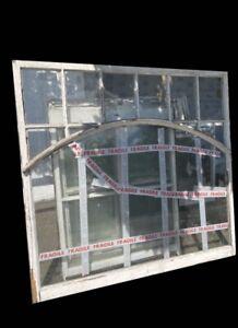 Large Reclaimed Old Georgian Panel Wooden Window Shop Front Window