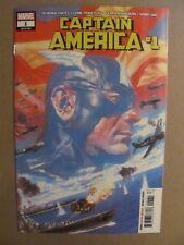 Captain America #1 Marvel Comics 2018 Series 9.6 Near Mint+
