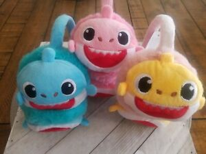 Baby Shark Ear Muffs New Kids Gift Winter Cold Stay Warm Protect Ear FREE SHIP