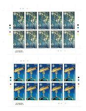 FULL SHEETS Sierra Leone 1993 1676-7 - Copernicus - Set of Sheets - MNH