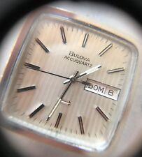 Bulova Accuquartz vintage Diapason movement, wonderful, perfect working Full set