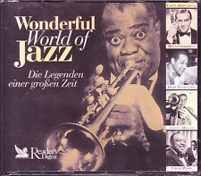 WONDERFUL WORLD OF JAZZ  -  Reader's Digest  5 CD Box