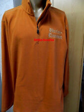 Harley-Davidson Shirt Fleece Sweatshirt Herren orange für Gr. XXXL # 96746-15VM