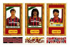 Tutto Milan 1998 - 3 Figurine Giganti Gullit Van Basten Rijkaard