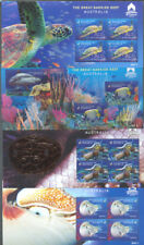 Australia Macau Show-Great Barrier Reef set of 4 min sheets fine used cto 2018