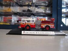 CODE 3 FDNY KITBASH ENGINE COMPANY 285  WITH SHOWCASE 1/64 SCALE