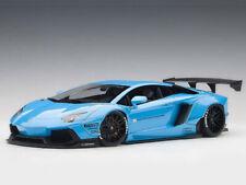 AUTOART 1/18 LIBERTY WALK LB-WORKS LAMBORGHINI AVENTADOR (METALLIC BLUE) 79107