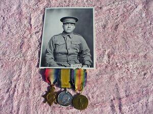 WW1 war medal trio group Australia.