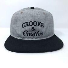 Crooks & Castles Snapback Hat A21