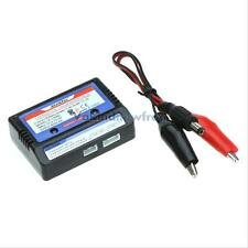 Linkman 7.4-11.1v Lithium RC Battery 2-3s Cell LiPo Balance Charger Set Black #V