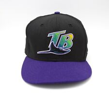 Tampa Bay Rays New Era Fitted baseball cap - Sz 7 5/8 - Cooperstown Collection