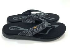 Teva Men's Terra-Float 2 Knit Flip Flop Sandals Color Black/Gray 1091594