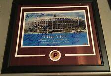 Autographed Vet Stadium Philadelphia Phillies (Oil Painting like) SGC Certified