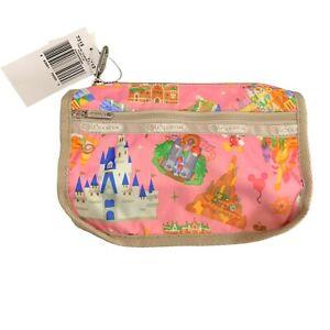 Tokyo Disneyland LeSportsac Park Fun Travel Madison Cosmetic Bag