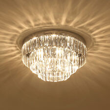 Crystal Light Ceiling Lamp Chandelier Mount Fixture Hallway Living Room