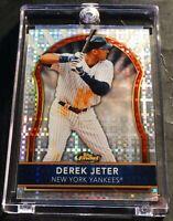 2011 DEREK JETER TOPPS FINEST XFRACTOR #28 NEW YORK YANKEES HOF 062/299 (917)