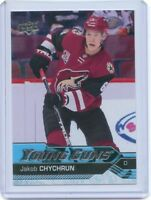 16/17 UPPER DECK YOUNG GUNS ROOKIE RC #206 JAKOB CHYCHRUN COYOTES *41687