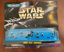 New unopened STAR WARS MICRO MACHINE GALOOB REBEL FLEET TROOPERS FIGURE SET