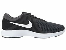 NIKE Men's Revolution 4 Running Shoe, Black/White-Anthracite Size 9 4E Wide NEW