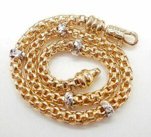 Bracciale in oro 750 18 kt morbido con moschettone girevole coll. Rockstar
