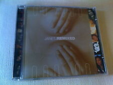 JANET JACKSON - JANET (REMIXED) - 11 TRACK DANCE CD ALBUM