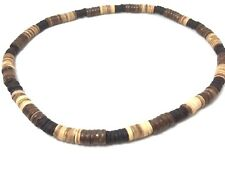 Three Color New Choker Coconut Shell Necklace Men HandMade in Thailand