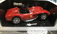 METAL MODELS Burago Ferrari 250 Testa Rossa (1957.  Ref 3007
