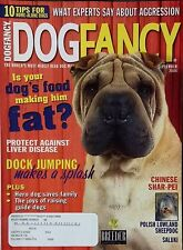 Dog Fancy September 2004 Shar Pei ~ Polish Lowland Sheepdog ~ Saluki ~