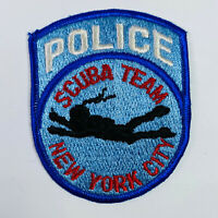 New York City Police Scuba Team NYPD Patch