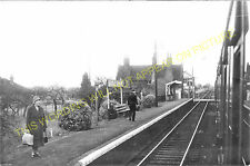 Middle Drove Railway Station Photo. Watlington - Smeeth Road. Wisbech Line. (6)