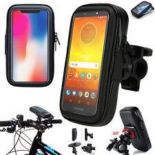 Bici bicicleta Mount Holder Funda de teléfono para Motorola Moto G5 G6 E4 E5 C jugar Plus