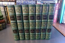 Easton Press THE GREAT MILITARY COMMANDERS, 7 volume set, lot collection leather