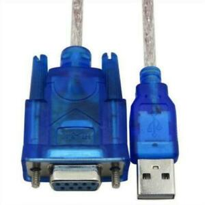 System USB 2.0 to RS232 Serial Port DB9 9 pin female Adapter Converter Universal