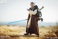 "Sideshow Obi-Wan Kenobi Star Wars Mythos 1/6 Scale 12"" Collectibles Figure"