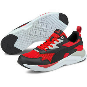 PUMA X-Ray Lite Men's Sport Sneakers Trainers Shoes Red-Black 37412217