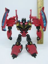 Transformers Arms Micron RUMBLE AM-30 Red Takara Destron Japan Prime Frenzy