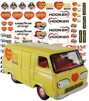 Ford Goodie decals water slide 1:64 scale decal sheet 1//64 Hot Wheels