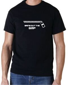 Bring out the Gimp Funny Rude Pulp Fiction Movie T-Shirt