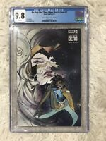 We Only Find Them When They're Dead  #1 Peach Momoko Glow In The Dark CGC 9.8!