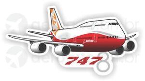 Boeing 747-8 aircraft sticker