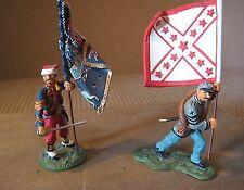 Britain's  American Civil War, New York & Texas Flag bearers, 41126