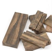 Persimmon wood Ziricote, Ciricote Mexican Ebony DIY Knife handle Blanks Scales