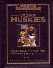 Sports Illustrated 2004 Connecticut Huskies Double National Champs Hard Cover