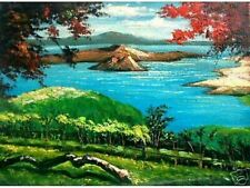 Taal Lake 18x24 Art Philippines Oil Painting