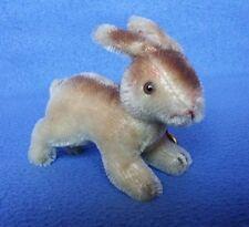 Vintage Hermann Teddy Original miniature Bunny Rabbit with mohair 1950's