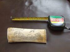 More details for antique faux scrimshaw / bovine  engraving 1852 arctic ocean