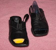 ECCO ♥ Sandalen ♥ Schuhe ♥ Gr. 7,5  ♥ *NEUwertig* ♥  Glattleder ♥ schwarz ♥