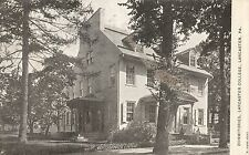 Dorms at Lancaster College in Lancaster PA 1912